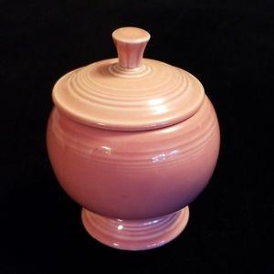Fiesta sugar bowl. Fiestaware